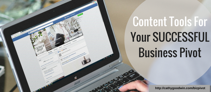 pivot your business with content creation