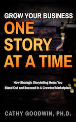 business storytelling book on Amazon by Cathy Goodwin