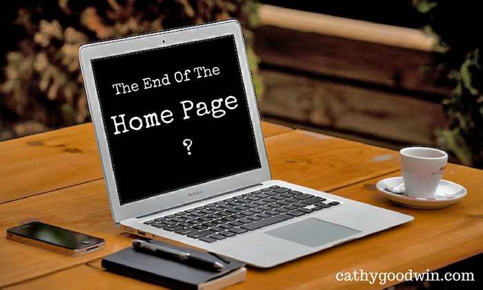 Copywriting For Website Marketing - Home Page - Cathy Goodwin