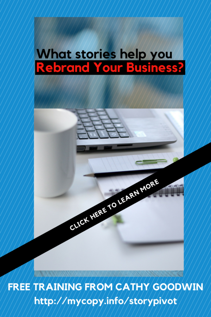 rebranding your small business, service business or solo-preneur business with a pivot your business story