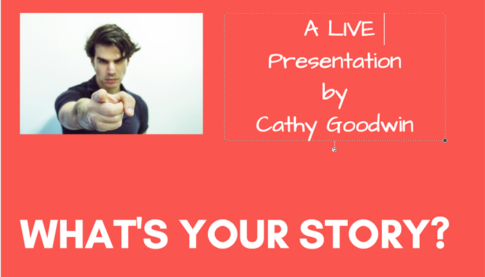 Storytelling for Small Business Marketing: A Live Presentation
