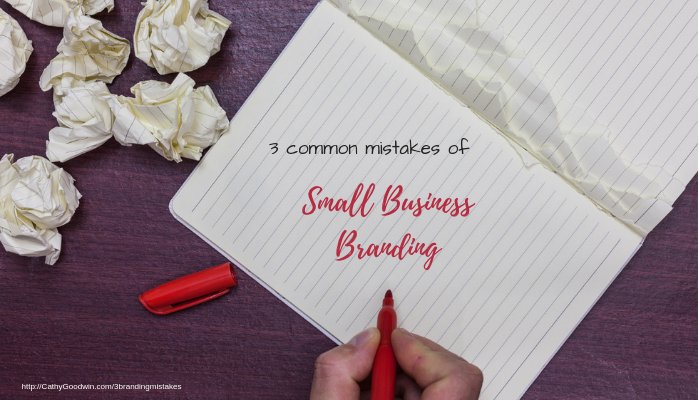 personal branding for small business by cathy goodwin