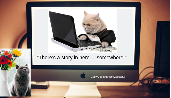 website development and web copywriting with storytelling