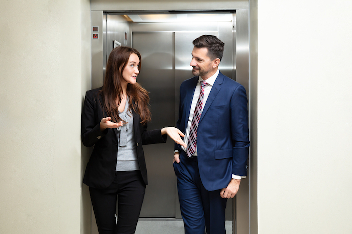 elevator speech with storytelling for small business marketing