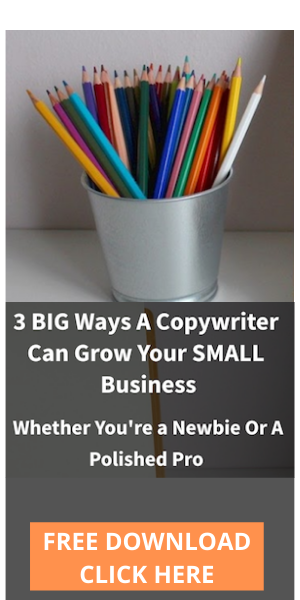 hire a copywriter for small business and service business